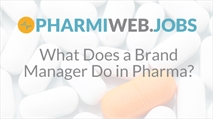 What does a Pharmaceutical Brand Manager (BM) * do?