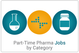 Part - Time Pharmaceutical Jobs By Category
